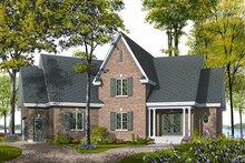 Dream House Plan - European Exterior - Front Elevation Plan #23-718