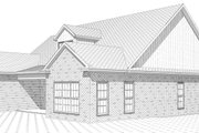 European Style House Plan - 4 Beds 3 Baths 2337 Sq/Ft Plan #63-316 Exterior - Other Elevation