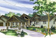 Dream House Plan - Craftsman Exterior - Front Elevation Plan #124-777