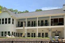 House Plan Design - Craftsman Exterior - Rear Elevation Plan #437-112