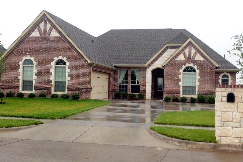 Home Plan - Tudor Exterior - Front Elevation Plan #84-607