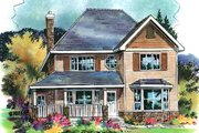 Traditional Style House Plan - 4 Beds 3 Baths 1917 Sq/Ft Plan #18-4508