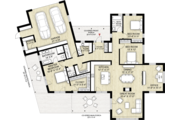 Modern Style House Plan - 3 Beds 2.5 Baths 2116 Sq/Ft Plan #924-4 Floor Plan - Main Floor Plan