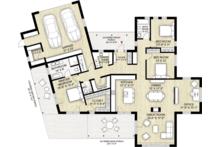 Modern Floor Plan - Main Floor Plan Plan #924-4