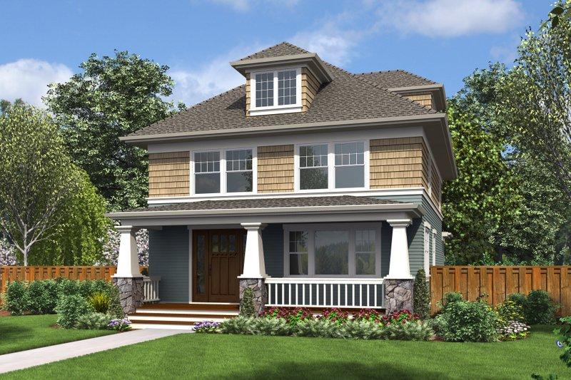 Craftsman Style House Plan - 3 Beds 2.5 Baths 2286 Sq/Ft Plan #48-710