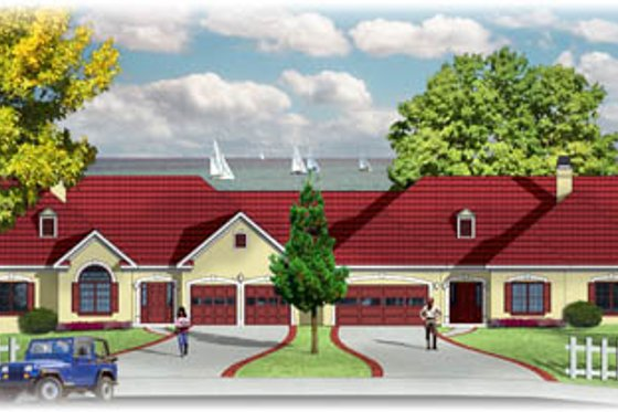 Traditional Exterior - Front Elevation Plan #26-101