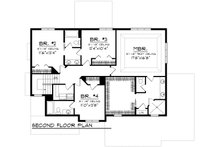 Prairie Floor Plan - Upper Floor Plan Plan #70-1178