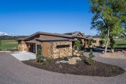 Contemporary Style House Plan - 3 Beds 3.5 Baths 4036 Sq/Ft Plan #892-20 Exterior - Other Elevation