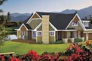 Craftsman Style House Plan - 3 Beds 2 Baths 1857 Sq/Ft Plan #51-518 Exterior - Other Elevation