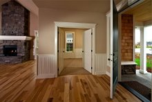 Entry - 2000 square foot Craftsman home