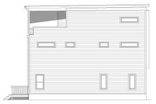 House Plan Design - Contemporary Exterior - Other Elevation Plan #932-196