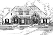 Traditional Style House Plan - 3 Beds 2 Baths 1990 Sq/Ft Plan #31-118 Exterior - Front Elevation
