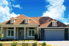 House Plan Design - Country Exterior - Front Elevation Plan #930-376