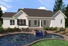 Architectural House Design - Farmhouse Exterior - Rear Elevation Plan #1071-4