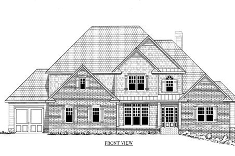 Traditional Exterior - Other Elevation Plan #437-35 - Houseplans.com