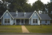 Country Exterior - Front Elevation Plan #45-326