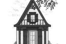 Cottage Exterior - Front Elevation Plan #23-465