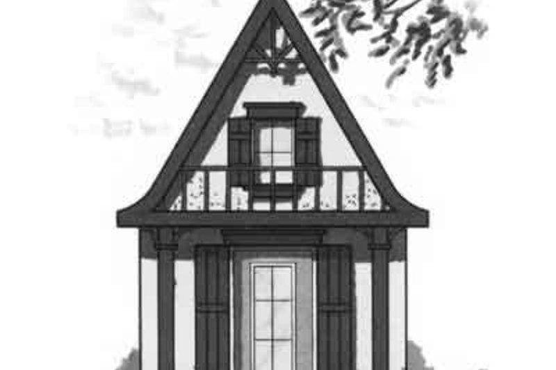 Dream House Plan - Cottage Exterior - Front Elevation Plan #23-465