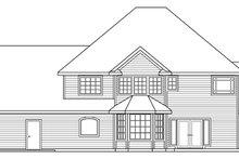 Home Plan - European Exterior - Rear Elevation Plan #124-271