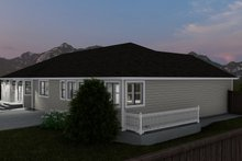 House Plan Design - Traditional Exterior - Other Elevation Plan #1060-63