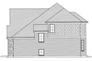 Tudor Style House Plan - 4 Beds 2.5 Baths 2494 Sq/Ft Plan #46-853 Exterior - Other Elevation