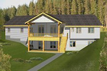 Home Plan - Modern Exterior - Front Elevation Plan #117-582