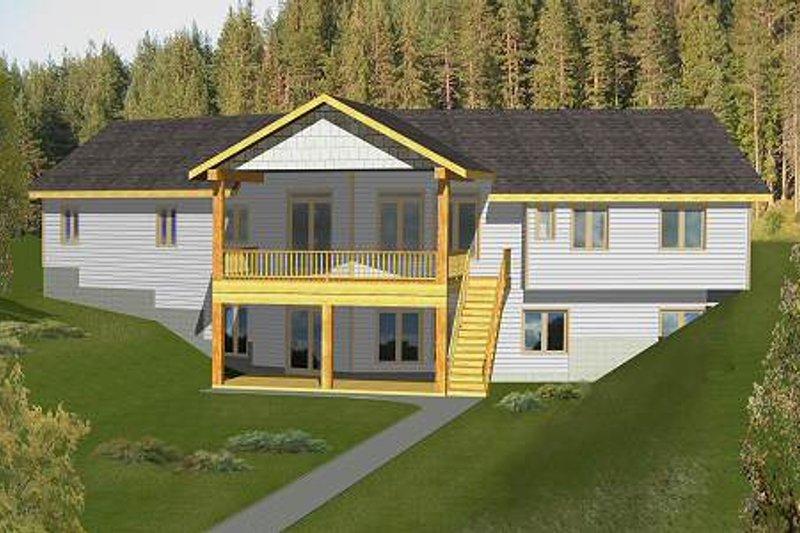 Modern Exterior - Front Elevation Plan #117-582