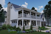 Home Plan - Southern Exterior - Front Elevation Plan #120-260