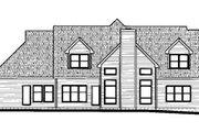 European Style House Plan - 4 Beds 3.5 Baths 3278 Sq/Ft Plan #20-1105 Exterior - Rear Elevation