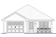 Home Plan - Cottage Exterior - Front Elevation Plan #430-39