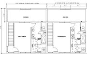 Modern Style House Plan - 2 Beds 2 Baths 5850 Sq/Ft Plan #448-1 Floor Plan - Upper Floor Plan