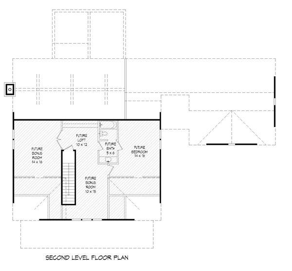 Dream House Plan - Country Floor Plan - Upper Floor Plan #932-278