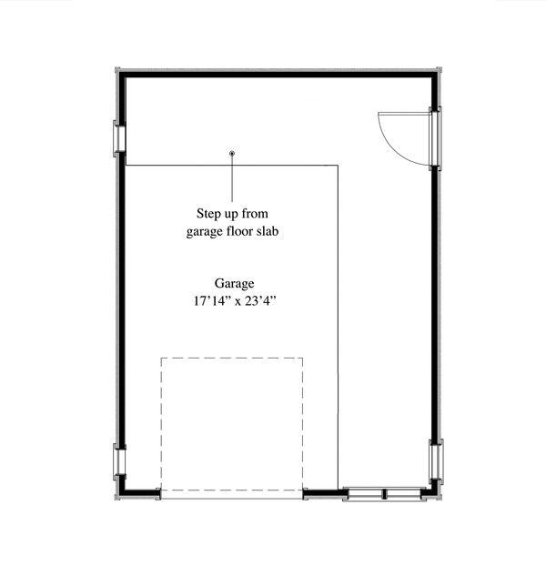 Cottage Floor Plan - Main Floor Plan Plan #917-7