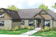 Home Plan - Craftsman Exterior - Front Elevation Plan #124-846