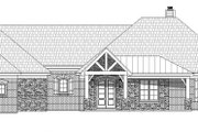 Country Style House Plan - 3 Beds 2.5 Baths 2775 Sq/Ft Plan #932-93 Exterior - Front Elevation