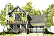 Home Plan - Cottage Exterior - Front Elevation Plan #20-1209