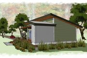 Modern Style House Plan - 1 Beds 1 Baths 640 Sq/Ft Plan #449-14 Photo
