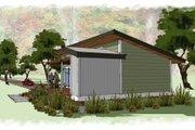 Modern Style House Plan - 1 Beds 1 Baths 640 Sq/Ft Plan #449-14 Photo