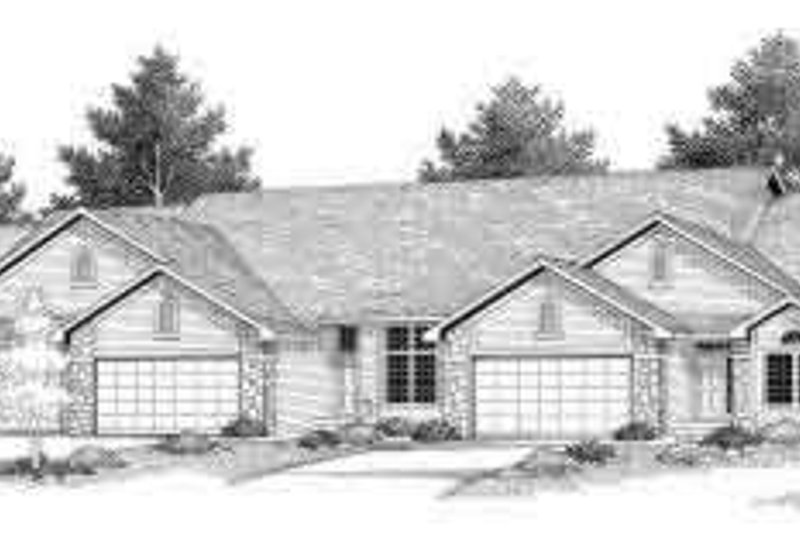 Traditional Exterior - Front Elevation Plan #70-753 - Houseplans.com