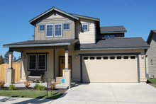 Craftsman Exterior - Front Elevation Plan #895-17