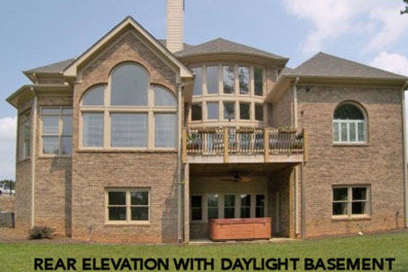 European Exterior - Other Elevation Plan #119-360 - Houseplans.com