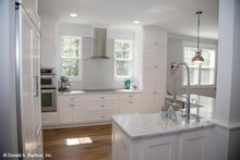 Classical Interior - Kitchen Plan #929-506