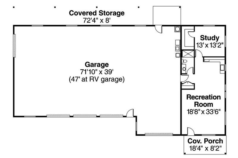 Traditional Floor Plan - Main Floor Plan Plan #124-659