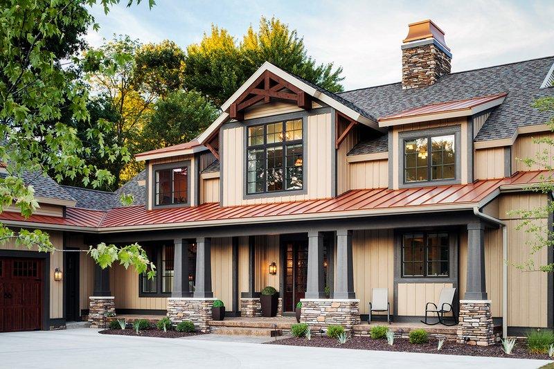 Dream House Plan - Craftsman Exterior - Front Elevation Plan #928-260