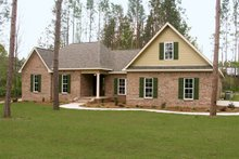 Dream House Plan - Traditional Exterior - Other Elevation Plan #21-210