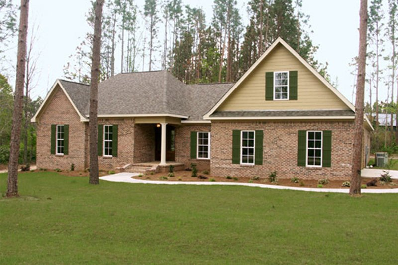 Traditional style house plan 4 beds 3 5 baths 3000 sq ft 2 story country house plans
