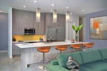 Beach Interior - Kitchen Plan #938-83