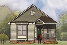 Dream House Plan - Bungalow Exterior - Front Elevation Plan #936-30