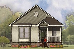 Architectural House Design - Bungalow Exterior - Front Elevation Plan #936-30