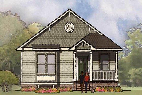 Bungalow Exterior - Front Elevation Plan #936-30